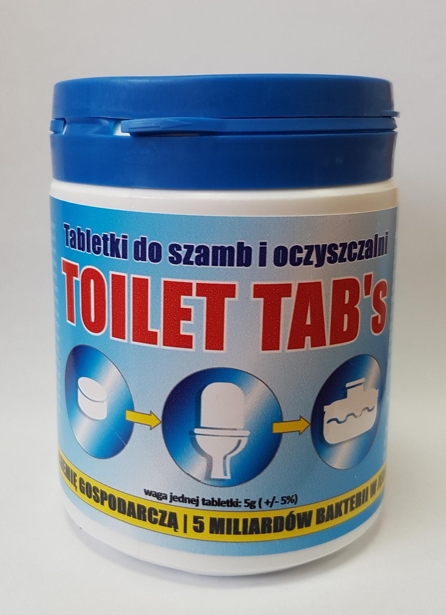 toilet tabs